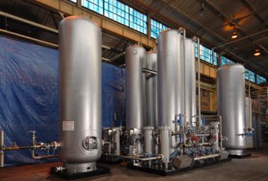 pressure swing absorption nitrogen generators