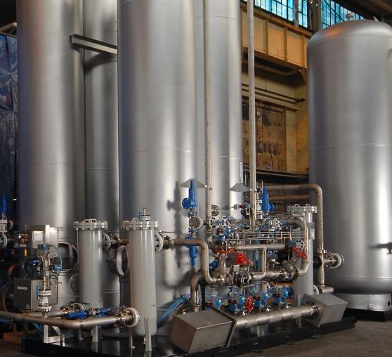 pressure swing nitrogen generator