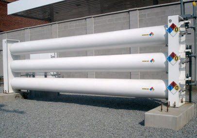 High Pressure Gas Storage Systems